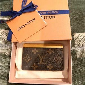 Louis Vuitton Monogram Mimosa Card Holder